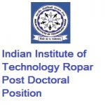 Indian Institute of Technology Ropar Postdoctoral Position