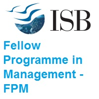 Indian School of Business Fellow Programme in Management FPM