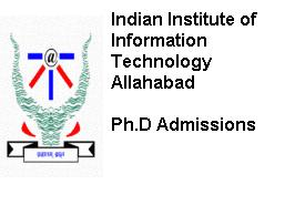 Indian Institute of Information Technology Allahabad Ph.D. Admission