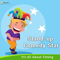 India's Stand Up Comedy Star - Vawsum Schools