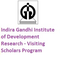 Indira Gandhi Institute of Development Research Visiting Scholars Program