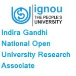 Indira Gandhi National Open University Research Associate