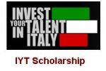 Invest Your Talent In Italy Scholarships