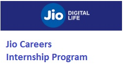 Jio Careers Internship Program
