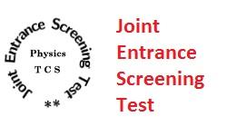 Joint Entrance Screening Test JEST