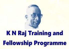 K.N. Raj Training and Fellowship Programme