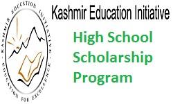 Kashmir Education Initiative High School Scholarship Program