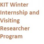 KIT Winter Internship and Visiting Researcher Program
