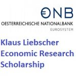 Klaus Liebscher Economic Research Scholarship