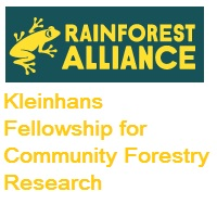 Kleinhans Fellowship for Community Forestry Research