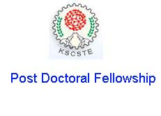 KSCSTE Post Doctoral Fellowship