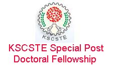 KSCSTE Special Post Doctoral Fellowship