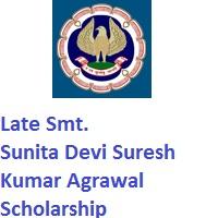 Late Smt. Sunita Devi Suresh Kumar Agrawal Scholarship for CA Final Students