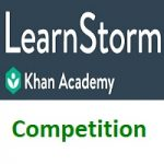 LearnStorm Competition by Khan Academy