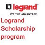 Legrand Scholarship Program 2020-21
