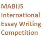 MABIJS International Essay Writing Competition