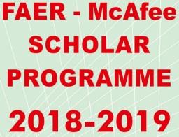 FAER - McAfee Scholar Awards