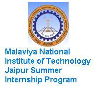 Malaviya National Institute of Technology Jaipur Summer Internship Program