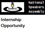 MANCH National Speakers Assembly Internship