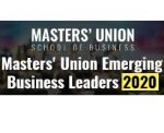 Masters Union Emerging Business Leaders 2020