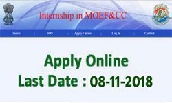 Ministry of Environment Forest and Climate Change Internship Scheme