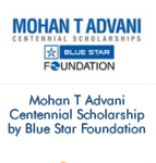 Mohan T Advani Centennial Scholarship by Blue Star Foundation