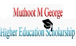 Muthoot M George Higher Education Scholarship