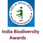 National Biodiversity Authority India Biodiversity Awards 2020