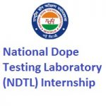 National Dope Testing Laboratory (NDTL) Internship