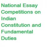 National Essay Competitions on Indian Constitution and Fundamental Duties