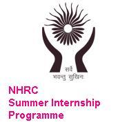 National Human Rights Commission Summer Internship Programme 2019