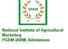 NATIONAL INSTITUTE OF AGRICULTURAL MARKETING PGDM ADMISSIONS 2019