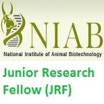 National Institute of Animal Biotechnology-NIAB Junior Research Fellow-JRF