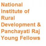 National Institute of Rural Development & Panchayati Raj Young Fellows
