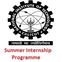 National Institute of Technology Calicut Summer Internship Programme