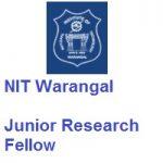 National Institute of Technology Warangal Telangana Junior Research Fellow