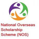 National Overseas Scholarship Scheme (NOS) 2020