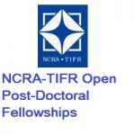 NCRA-TIFR Open Post-Doctoral Fellowships