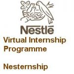 Nestle India Virtual Internship Programme-Nesternship