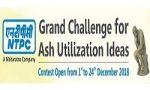 NTPC Grand Challenge For Ash Utilization Ideas