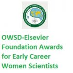 OWSD-Elsevier Foundation Awards for Early Career Women Scientists