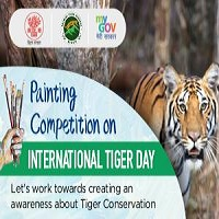 Painting Competition on International Tiger Day