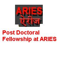 Post Doctoral Fellowship at ARIES
