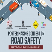 Poster Making Contest for Road Safety - Preventing the loss of lives