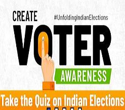 QUIZ ON ELECTIONS IN INDIA