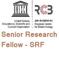 Regional Centre for Biotechnology (RCB) Senior Research Fellow - SRF