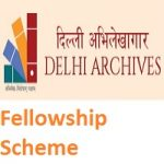 Research Fellowship in Delhi Archives