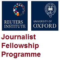 Reuters Institute Journalist Fellowship Programme 2021-2022