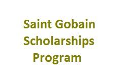 Saint Gobain Scholarship