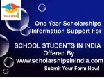 """COVID-19"" Scholarships Information Support For School Students"